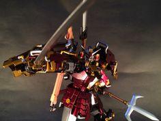 GUNDAM GUY: MG 1/100 Musha Gundam - Painted Build