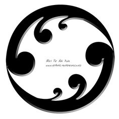 Maori Art - Koru Eternity