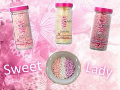 Pink Zebra Recipes- Sweet Lady.  Featuring: Lovely Lady; Vanilla Creme and Sweet Pea & Lily.