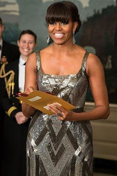 Michelle presents 85th annual academy awards#Beautiful