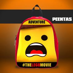 Lego Emmet Adventure -  Design variations School Bag
