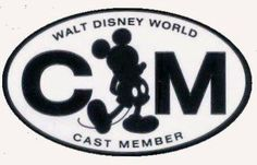 This sticker is still on the back of my car, even though I'm no longer a Disney Cast Member.
