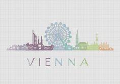 BOGO Cross Stitch Pattern Vienna Austria por ZGCROSSSTITCHPATTERN