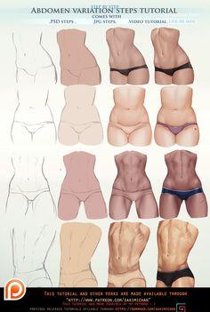 "ART In G 자료 봇 on Twitter: ""바디(몸) 튜토리얼 #바디 #인체 #튜토리얼 #자료 #아트인지 #Body #Anatomy #Tutorial #Reference #ArtInG… """