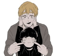 LOOK AT THEM THEYRE SO ADORABLE - Arataka Reigen, Kageyama Shigeo || Mob psycho 100