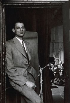 Arthur Asher Miller (October 17, 1915 – February 10, 2005) was a playwright and essayist, prominent figure in American theatre, writing dramas that include plays such as All My Sons (1947), Death of a Salesman (1949), The Crucible (1953) and A View from the Bridge (one-act, 1955; revised two-act, 1956), as well as the film, The Misfits (1961). Arthur Miller, New York, NY, 1947.  Photo by Arnold Newman.