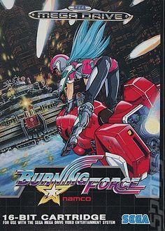 Burning Force - Sega Genesis and Mega Drive Mega Drive Games, Sega Mega Drive, Playstation, Best Spotify Playlists, Nintendo, 8 Bits, Video Game Music, Sega Genesis, Box Art