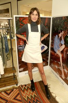 Alexa Chung for AG Jeans Launch at NM Beverly Hills
