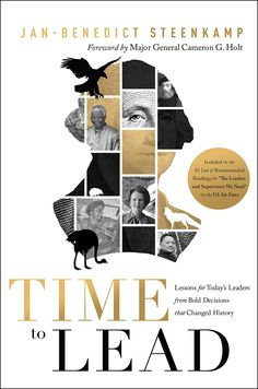 """Time to Lead"" - by Jan-Benedict Steenkamp (cover design by Teresa Muniz)"