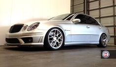 Mercedes E55 on all-new HRE P40SC Conical - StanceWorks