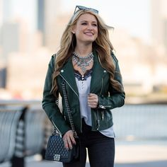 Moto Jacket (Under $100!), Lace Cami & Rocktuds
