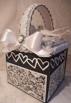 ScrapbookFashionista Designs by Rina: Magnolia Tilda Wedding Explosion Box Album