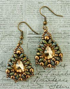 Linda's Crafty Inspirations: Marquesa Earrings
