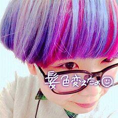 でんでんむし (ミサキ) @tntn.c5 #髪色#派手髪#マニ...Instagram photo | Websta (Webstagram)