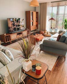 My Living Room, Home And Living, Living Room Decor, Living Spaces, Modern Interior Design, Cozy House, Living Room Designs, House Design, Decoration