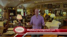 Middlebury Consignment: 5th Anniversary October (:30) Middlebury Consignment is celebrating their 5th Anniversary now through the end of the month! You'll get great savings on new and consigned furniture as well as a tremendous selection of exquisite home furnishings! http://www.middleburyconsignment.com