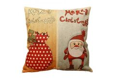 Superb decorative cushion cover to beautify your home during the holiday season! Create your decor!