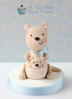 Kangaroo Cake Topper - Cake by The Clever Little Cupcake Company
