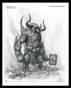 Hephasto big hornes, Jean-Baptiste Monge on ArtStation at https://www.artstation.com/artwork/hephasto-big-hornes