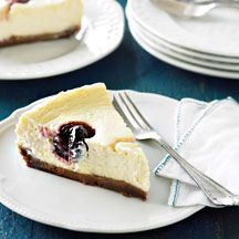 Weight Watchers Cherry and White Chocolate Cheesecake 7PP per slice.  A desert you can make AND enjoy with out it piling on the pounds!