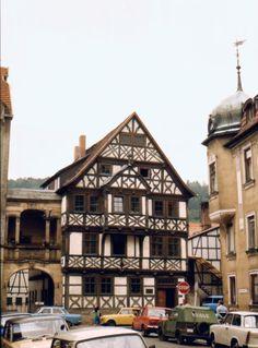 1987 | Meiningen: ehemalige Posthalterei | V-like-Vintage