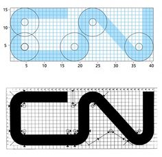 CN Logo Designed by Allan Fleming & CN Brand Guidelines