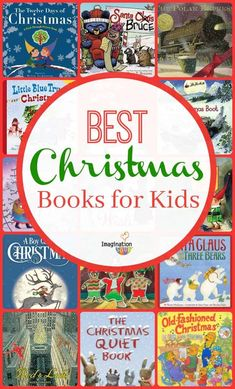 Biggest, Best List of Children's Christmas Books (You'll want to read them all! Christmas Stories For Kids, Childrens Christmas Books, Christmas Books For Kids, Fun Christmas Activities, Book Activities, Christmas Fun, Childrens Books, Activity Books, Preschool Books