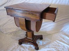 Rosewood Work Table - Antiques Atlas