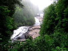 Triple Falls, DuPont State Forest, Brevard, NC