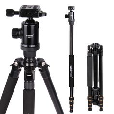 Zomei Z688 Professional Aluminum Tripod for DSLR Camera-Portable Traveling trepied Applicable For Canon, Nikon, Sony