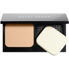 Bobbi Brown Skin Weightless Powder Foundation 11g (69 CAD) ❤ liked on Polyvore featuring beauty products, makeup, face makeup, foundation, beauty, powder foundation and bobbi brown cosmetics