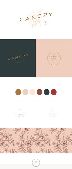 Canopy Floral and Botanic - by Viola Hill Studio