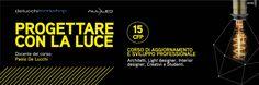 È in partenza a Bologna un nuovo percorso di aggiornamento e sviluppo professionale promosso da De Lucchi Workshop, in partnership con ALL-LED, rivolto ad architetti, light designer, interior designer, creativi e studenti. Nostalgia, Lucca, Bologna, Company Logo, Led, Logos, A Logo, Legos