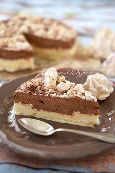 Tort lodowy z bezami Polish Recipes, Polish Food, Tiramisu, Eat, Ethnic Recipes, Desserts, Cakes, Postres, Cake Makers