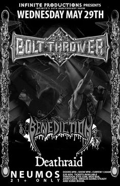 bolt thrower,deathraid