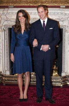 Kate Middleton: turning into a Princess (26 photos) Kate picks a dress that matches her beautiful ring spot-on