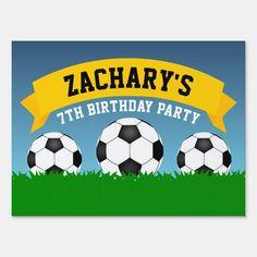 Soccer Birthday Parties, Football Birthday, Sports Birthday, Soccer Party, Lego Birthday, Sports Party, Soccer Ball, 1 Year Old Birthday Party, Birthday Ideas