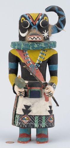 Mid-century Hopi Kachina Doll by James Kewonwytewa