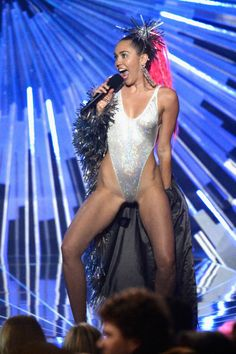PHOTO GALLERY: This Is Every Totally Insane Thing Miley Cyrus Wore At The VMAs