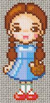 Wizard of Oz cross-stitch - Dorothy