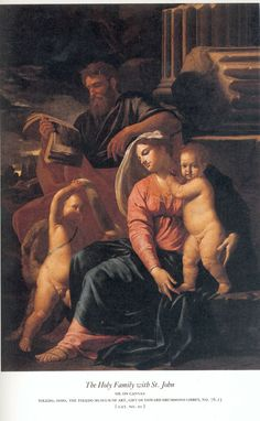 Nicolas Poussin, The Holy Family with St John, Toledo Museum of Art.