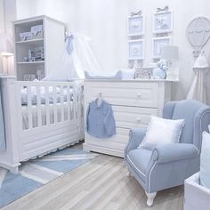 Amazing ideas to decorate baby boy nursery via @reem_ette #babyboynursery #boynursery #babyroom #interiordesign #homedecor #babynursery