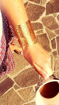 Band, Cuff Bracelets, Jewelry Making, How To Make, Fashion, Amulets, Moda, Jewellery Making, La Mode