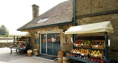 Chatsworth Farm Shop - great sausages and oatcakes.