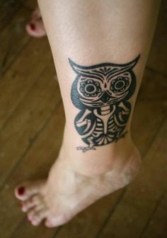 I love owl tattoos