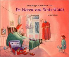 De kleren van Sinterklaas. Anouk vindt in de logeerkamer een koffer met daarin de kleren van Sinterklaas. Een geweldig boek.