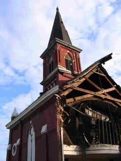 Demolition begins on historic Sedamsville church.