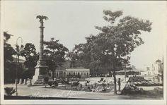 Plaza El Aguila ,Puerto Cabello Venezuela.1898