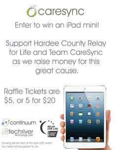 donate to win team caresync is raising money for the acs relay for
