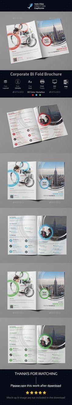 Corporate Bi Fold Brochure 02